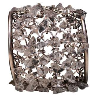 Paco Rabanne Silver Metal Bracelet