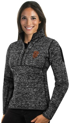 Antigua Women's San Francisco Giants Fortune Midweight Pullover Sweater