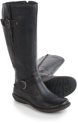 Born b.o.c. Faye Leather Boots - Wide Calf (For Women) $49.99 thestylecure.com
