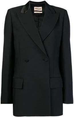 Roberto Cavalli peaked lapels double-breasted blazer