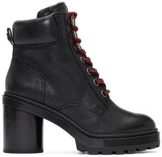 Marc Jacobs Black Crosby Hiking Boots