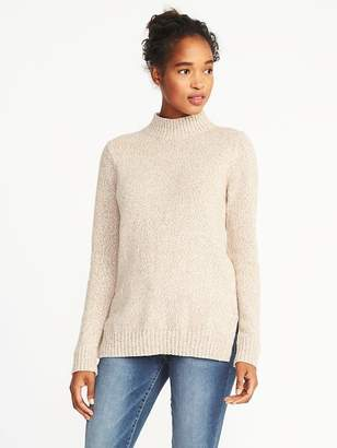 Old Navy Marled Mock-Neck Sweater for Women