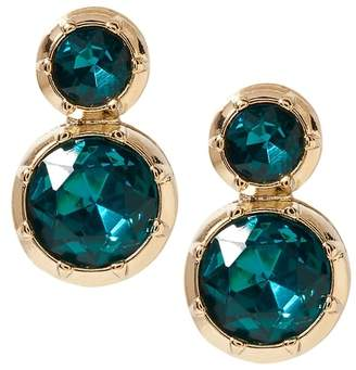 Banana Republic Brilliant Gemstone Rounded Drop Earrings