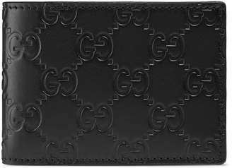 Gucci Signature wallet $295 thestylecure.com