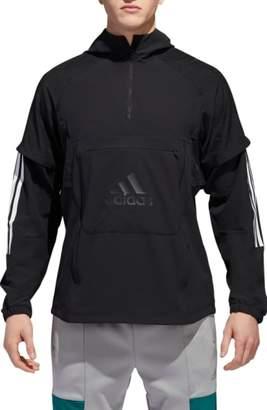 adidas ID Hooded Quarter Zip Jacket