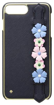 Kate Spade Floral Hand Strap Stand Phone Case for iPhone 8 Plus