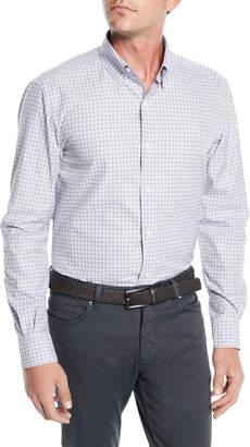 Ermenegildo Zegna Men's Check Woven Sport Shirt