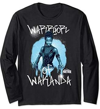 Marvel Panther Avengers Shuri Painted Long Sleeve Tee