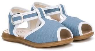 Pépé Kids contrast piping sandals
