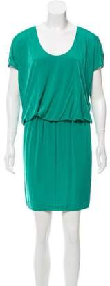 Yigal Azrouel Draped Midi Dress