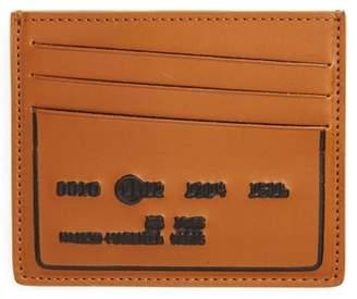 Maison Margiela Embossed Leather Card Holder