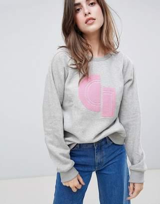 Gestuz Carlotta Print Sweatshirt