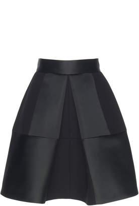 Dice Kayek Geometric Pleat Skirt