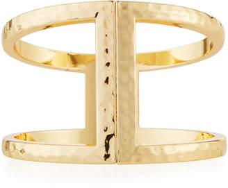 Lydell NYC Hammered Hinge Bracelet