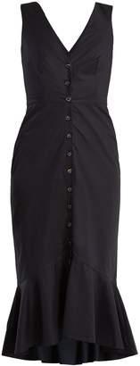 Saloni Zoey stretch-cotton dress