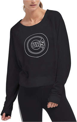 DKNY Women Chicago Cubs Mesh Pullover