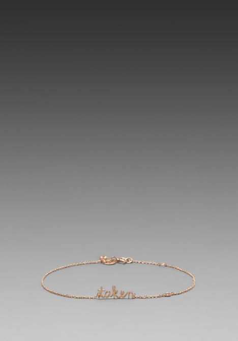 Sydney Evan Shy by Taken Bracelet with Diamond Bezel