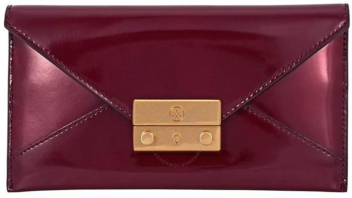 Tory Burch Juliette Envelope Pouch - Imperial Garnet - ONE COLOR - STYLE