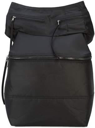 Rick Owens one shoulder messenger backpack