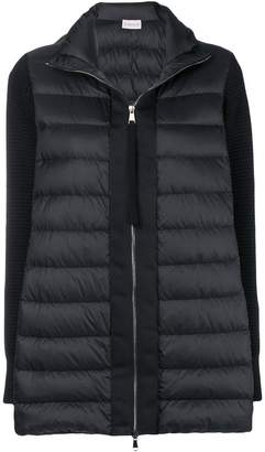 Moncler padded knit cardigan