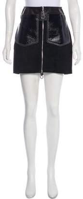 Edun Leather Mini Skirt w/ Tags