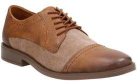 Clarks Garran Two-Tone Leather Oxfords