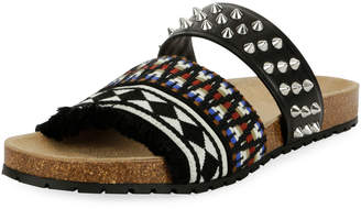 DSQUARED2 Spike Slide Sandal
