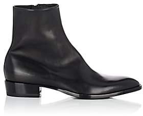 Saint Laurent Men's Wyatt Leather Boots - Black