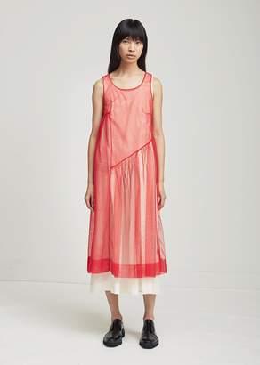 Molly Goddard Robyn Dress Red