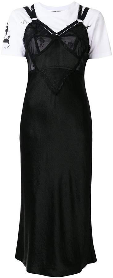 McQ Alexander McQueen slip dress