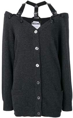 Moschino loose fitted cardigan