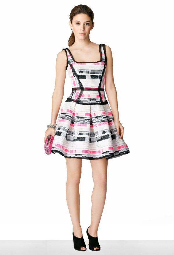Milly Scoop Neck Dress