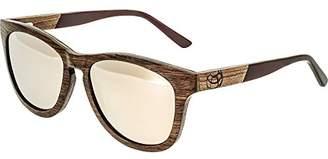 Earth Wood Cove Sunglasses Polarized Wayfarer