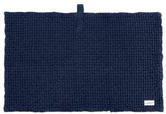 The Organic Company Big Waffle Bath Mat Navy