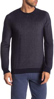 Knowledge Cotton Apparel Crew Neck Pique Knit Pullover