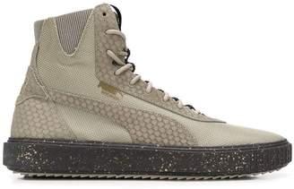 Puma panel hi-top sneakers