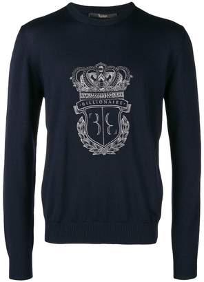 Billionaire logo sweater