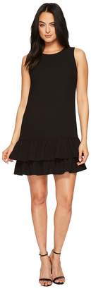 CeCe Macara - Sleeveless Ruffle Hem Dress Women's Dress
