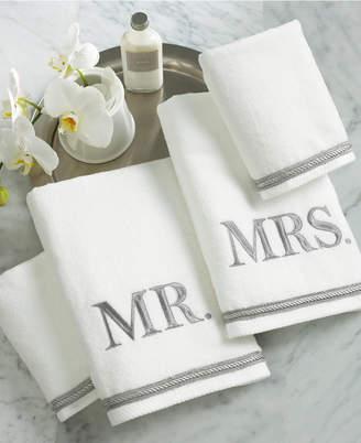 Avanti Bath Towels, Mr. & Mrs. 4 Piece Towel Set Bedding