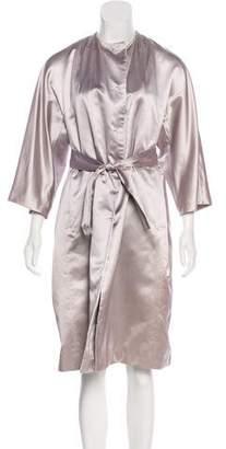 Prada Long Silk Coat
