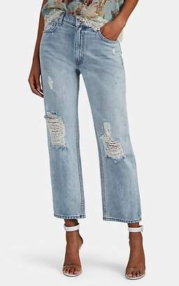 Lam Crosby 10 Derek Jeans Boyfriend Slouchy Pippa Women's Distressed qCEdfzdU
