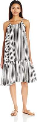 MinkPink Women's Riviera Getaway Stripe Swing Dress Cover up