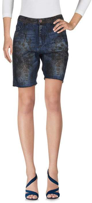 LABELROUTE Jeansbermudashorts