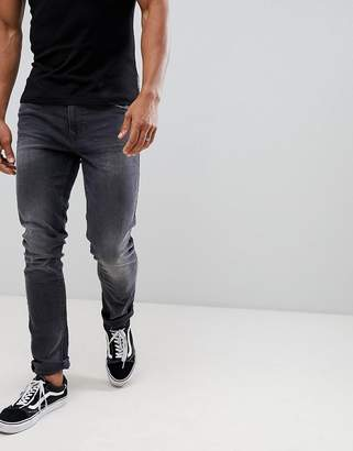 Blend of America slim fit jeans gray