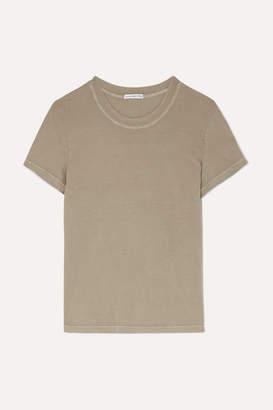 James Perse Vintage Boy Cotton-jersey T-shirt - Beige
