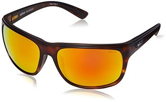 Revo Remus RE 1023 02 OG Polarized Rectangular Sunglasses, Matte Tortoise/Solar Orange, 62 mm $199 thestylecure.com