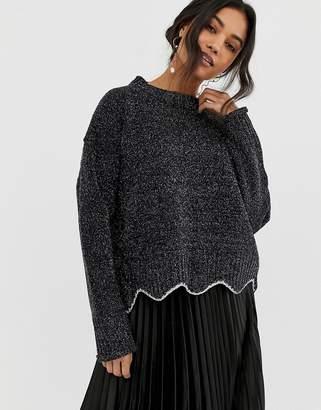 Raga Maribelle Floral Layer Sweater