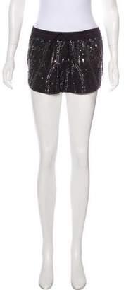 Rory Beca Mid-Rise Embellished Shorts