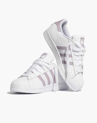 Madewell Adidas Superstar Lace-Up Sneakers