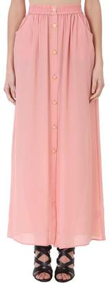 Pierre Balmain Pink Long Skirt